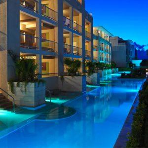 luxury Mexico holiday Packages Paradisus Playa Del Carmen La Perla Royal Service Paradisus Junior Suite Swim Up