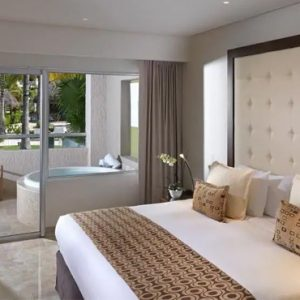 Mexico Honeymoon Packages Paradisus Playa Del Carmen La Perla Two Bedroom Master Suite