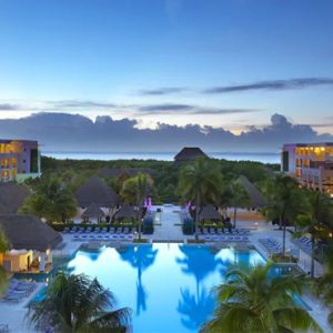 luxury Mexico holiday Packages Paradisus Playa Del Carmen La Perla Exterior 2