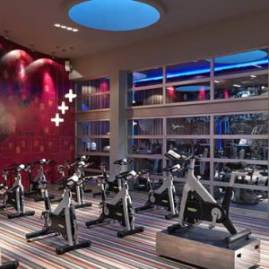 luxury Mexico holiday Packages Paradisus Playa Del Carmen La Perla Gym