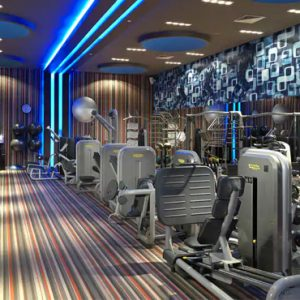 luxury Mexico holiday Packages Paradisus Playa Del Carmen La Perla Gym 2