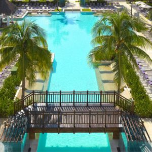 luxury Mexico holiday Packages Paradisus Playa Del Carmen La Perla Pool