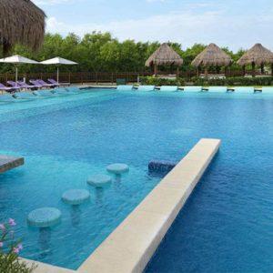 luxury Mexico holiday Packages Paradisus Playa Del Carmen La Perla Pool 2