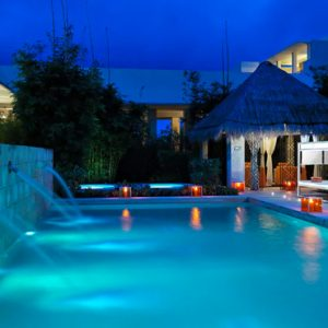 luxury Mexico holiday Packages Paradisus Playa Del Carmen La Perla Pool 3