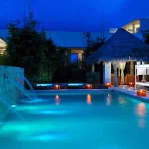 luxury Mexico holiday Packages Paradisus Playa Del Carmen La Perla Pool 3