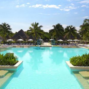 luxury Mexico holiday Packages Paradisus Playa Del Carmen La Perla Pool 4