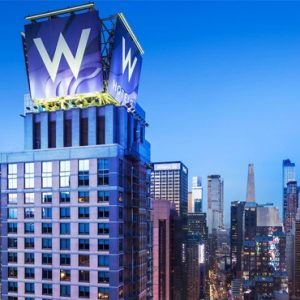 New York Honeymoon Packages W Times Square New York Exterior