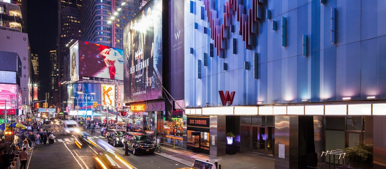 New York Honeymoon Packages W Times Square New York Header