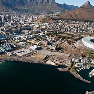 One&Only Cape Town South Africa Honeymoon Aerial