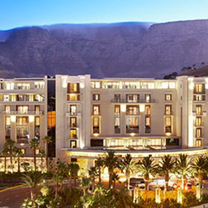 One&Only Cape Town South Africa Honeymoon Table Exterior