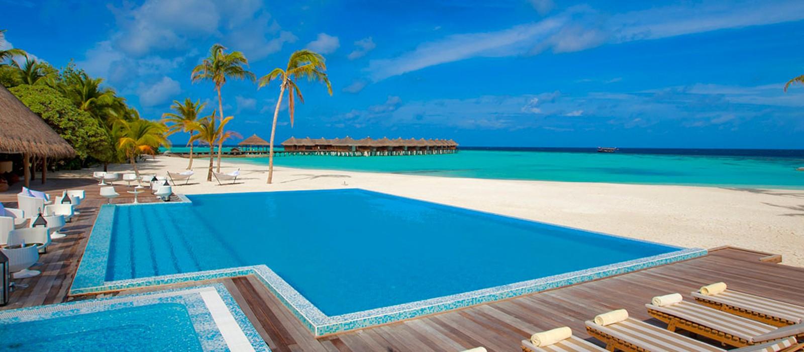 PD Header - Luxury Maldives Honeymoons - Maafushivaru - pool