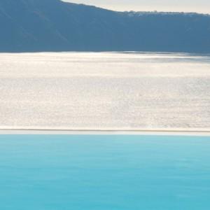 Pool 2 - sun Rocks Hotel Santorini - luxury santorini holiday packages