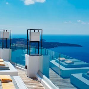 Pool 4 - sun Rocks Hotel Santorini - luxury santorini holiday packages