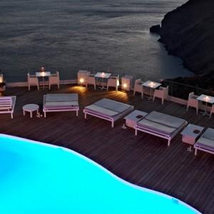 Pool 5 - sun Rocks Hotel Santorini - luxury santorini holiday packages
