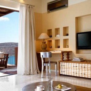 Premium one bedroom suite 3 - domes of elounda - luxury greece holiday packages