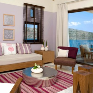 Premium one bedroom suite 4 - domes of elounda - luxury greece holiday packages