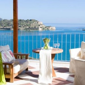 Premium one bedroom suite 5 - domes of elounda - luxury greece holiday packages