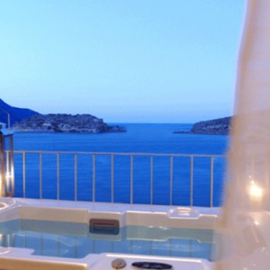 Premium one bedroom suite 6 - domes of elounda - luxury greece holiday packages