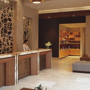 Ritz-Carlton Abu Dhabi Grand Canal - abu dhabi luxury holidays - reception