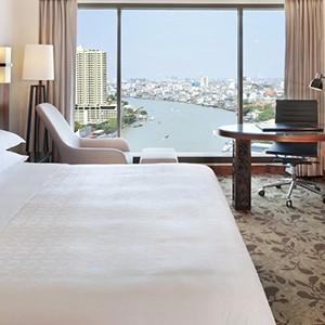 Royal Orchid Sheraton Bangkok - Thailand Honeymoon - deluxe room