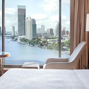Royal Orchid Sheraton Bangkok - Thailand Honeymoon - king room