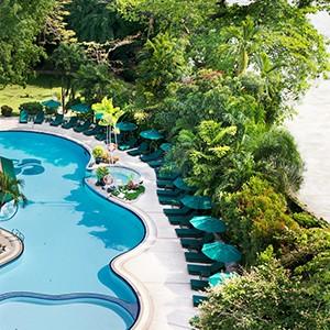 Royal Orchid Sheraton Bangkok - Thailand Honeymoon - pool