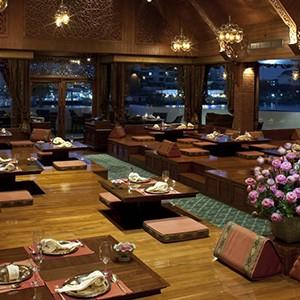 Royal Orchid Sheraton Bangkok - Thailand Honeymoon - thai cuisne