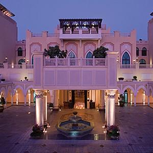 Shangri-La Abu Dhabi - Abu Dhabi Honeymoon Packages - courtyard