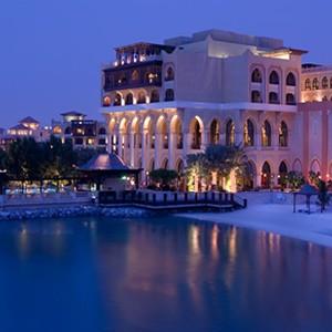 Shangri-La Abu Dhabi - Abu Dhabi Honeymoon Packages - exterior night