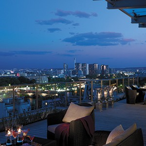 Shangri-La Paris - Terrace