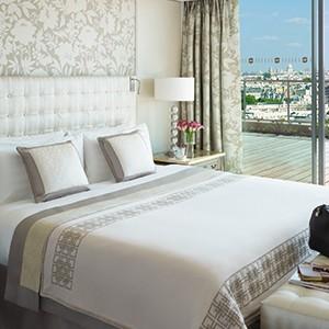 Shangri-La Paris - bedroom