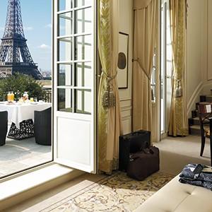 Shangri-La Paris - eiffel suite