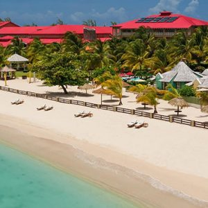 luxury St Lucia holiday Packages Sandals Grande St Lucian Resort Beach 2