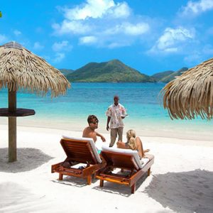 luxury St Lucia holiday Packages Sandals Grande St Lucian Resort Beach 3