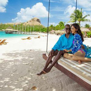 luxury St Lucia holiday Packages Sandals Grande St Lucian Resort Beach 4