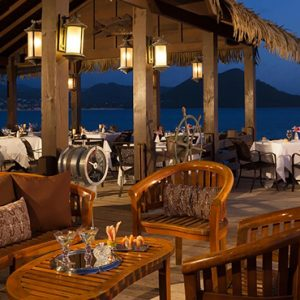 luxury St Lucia holiday Packages Sandals Grande St Lucian Resort Dining 10