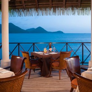 luxury St Lucia holiday Packages Sandals Grande St Lucian Resort Dining 13