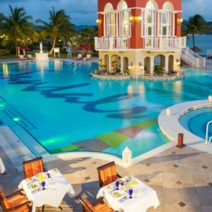 luxury St Lucia holiday Packages Sandals Grande St Lucian Resort Dining 3