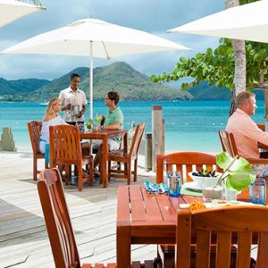 luxury St Lucia holiday Packages Sandals Grande St Lucian Resort Dining 5