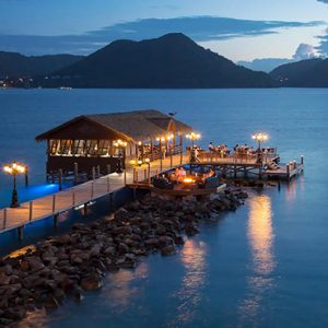 luxury St Lucia holiday Packages Sandals Grande St Lucian Resort Dining 8