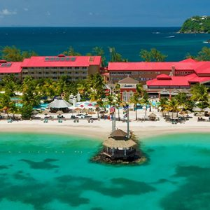 luxury St Lucia holiday Packages Sandals Grande St Lucian Resort Exterior 2