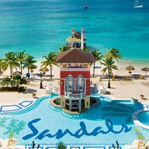 luxury St Lucia holiday Packages Sandals Grande St Lucian Resort Exterior 3