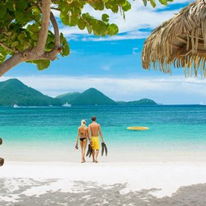 luxury St Lucia holiday Packages Sandals Grande St Lucian Resort Honeymoon 2