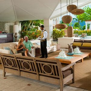 luxury St Lucia holiday Packages Sandals Grande St Lucian Resort Lobby