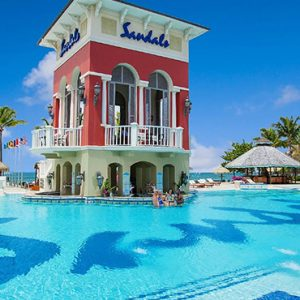 luxury St Lucia holiday Packages Sandals Grande St Lucian Resort Pool 2