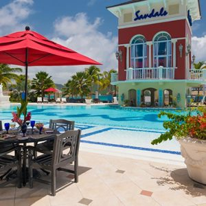 luxury St Lucia Honeymoon Packages Sandals Grande St Lucian Resort Pool 3