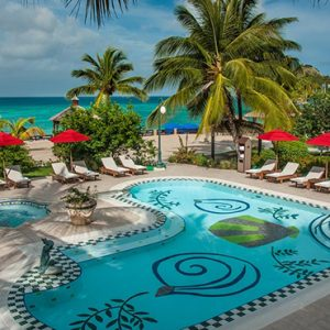 luxury St Lucia holiday Packages Sandals Grande St Lucian Resort Pool 4