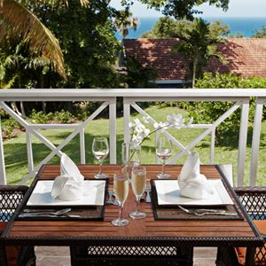 Terace Butler Village Honeymoon Poolside One Bedroom Villa Suite Sandals Ochio Rios Jamaica