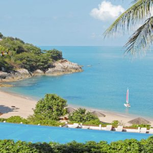 Thailand Honeymoon Packages The Tongsai Bay, Koh Samui Hotel Overview Of The Sea