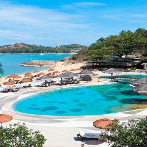Thailand Honeymoon Packages The Tongsai Bay, Koh Samui Pool2